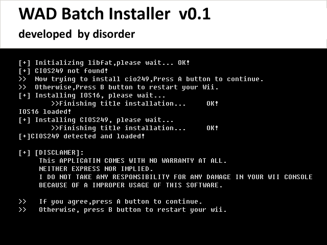 Thumbnail 1 for WAD Batch Installer